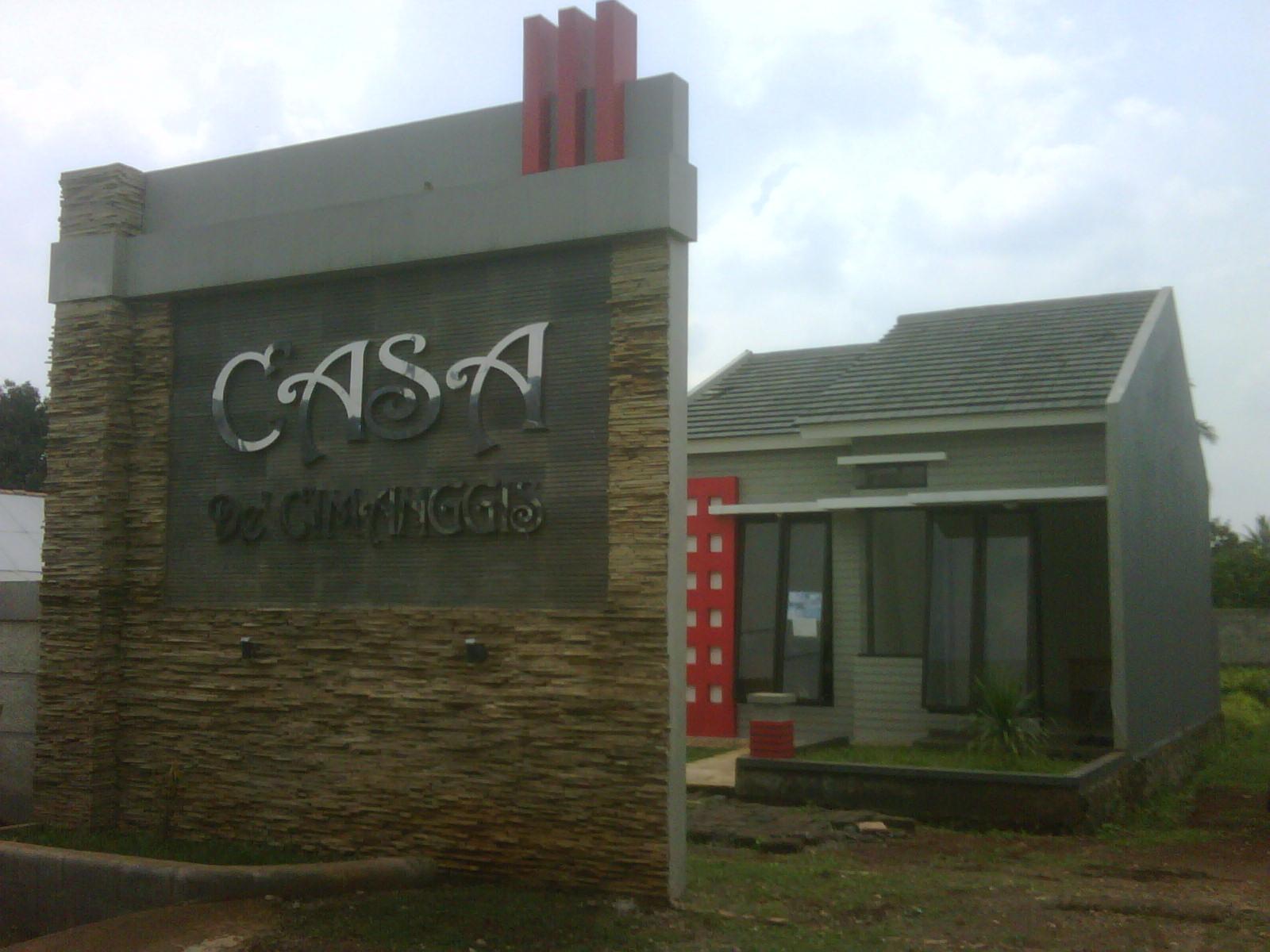 Casa de cimanggis unit terbatas lokasi strategis for Casa jardin jalan damai